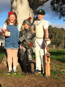 Book Week Matilda, Thor and Don Bradman